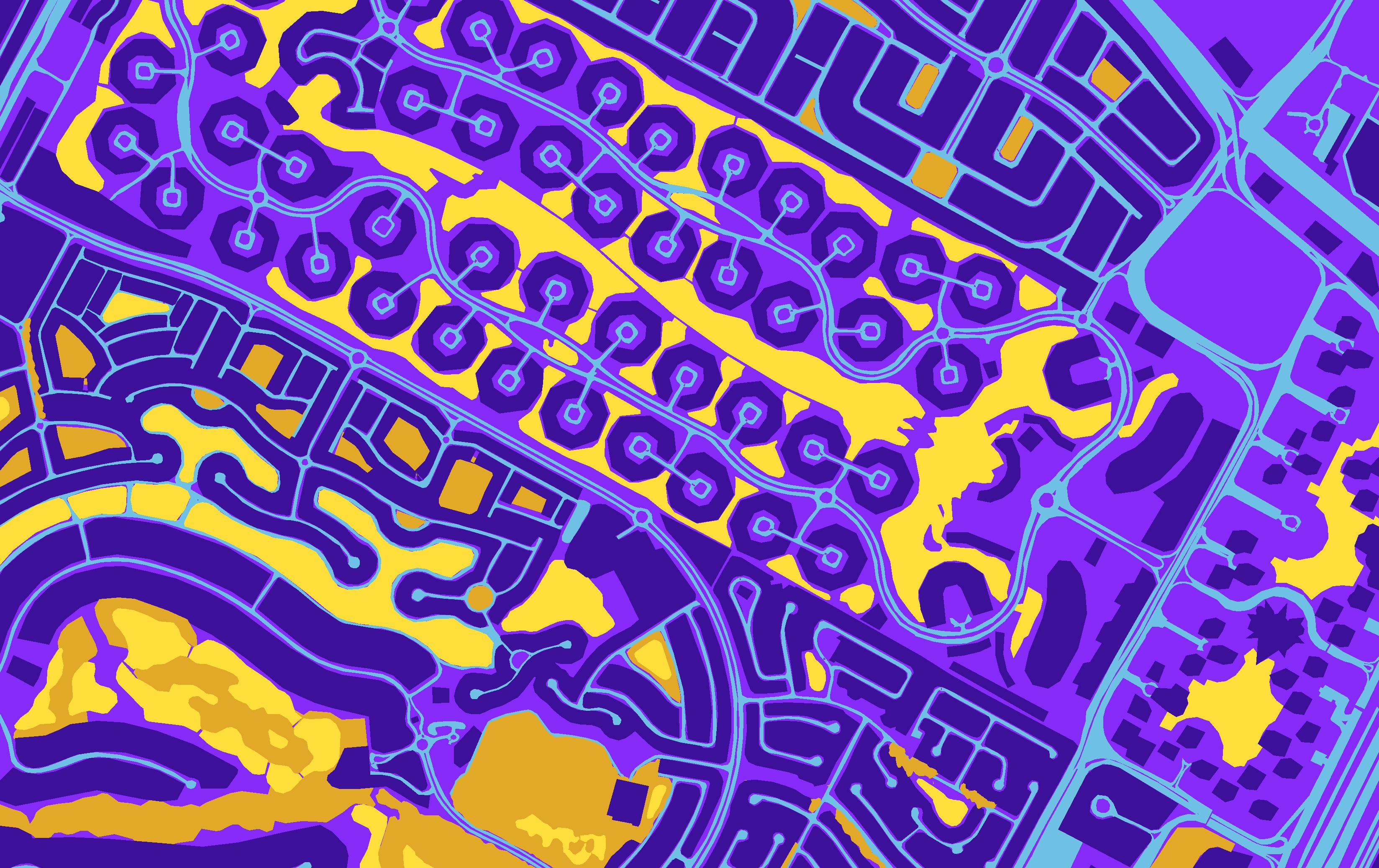 Full pixel-wise semantic segmentation