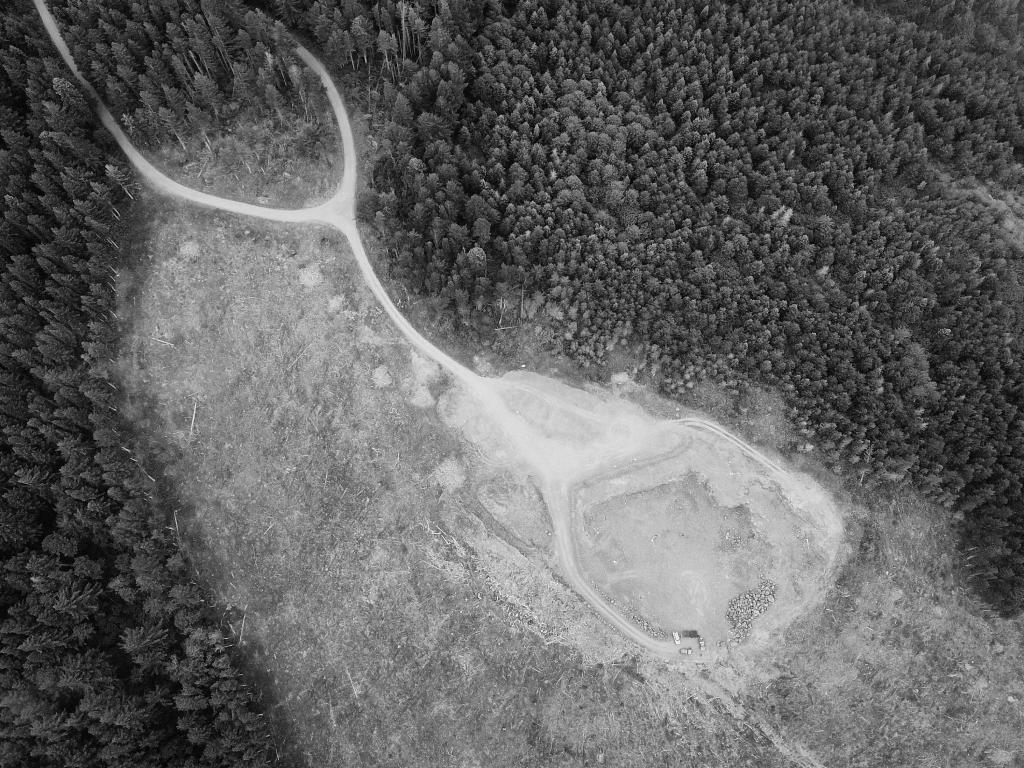 Semantic Segmentation Aerial Deforestation Pre-labeling example