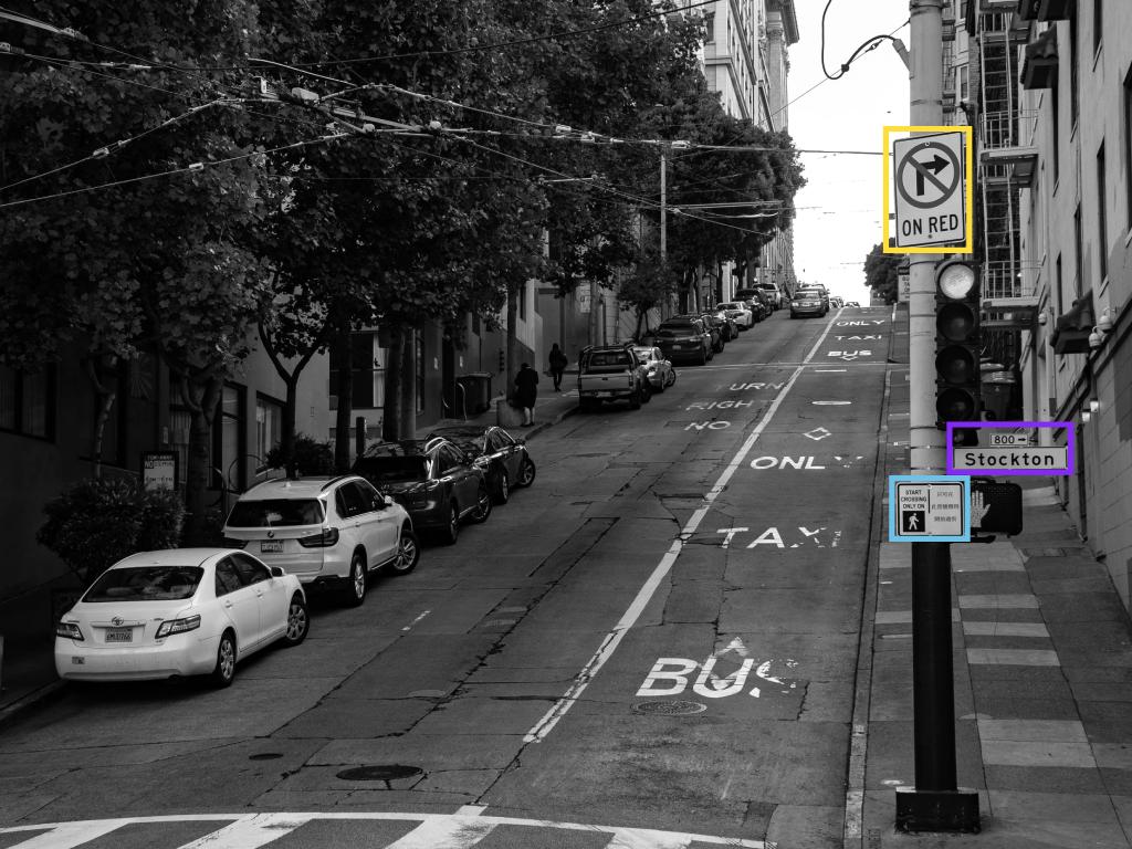autonomous vehicle post labeling example