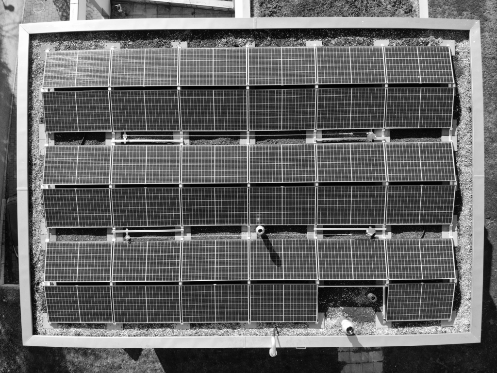 Solar panels pre-labeling example