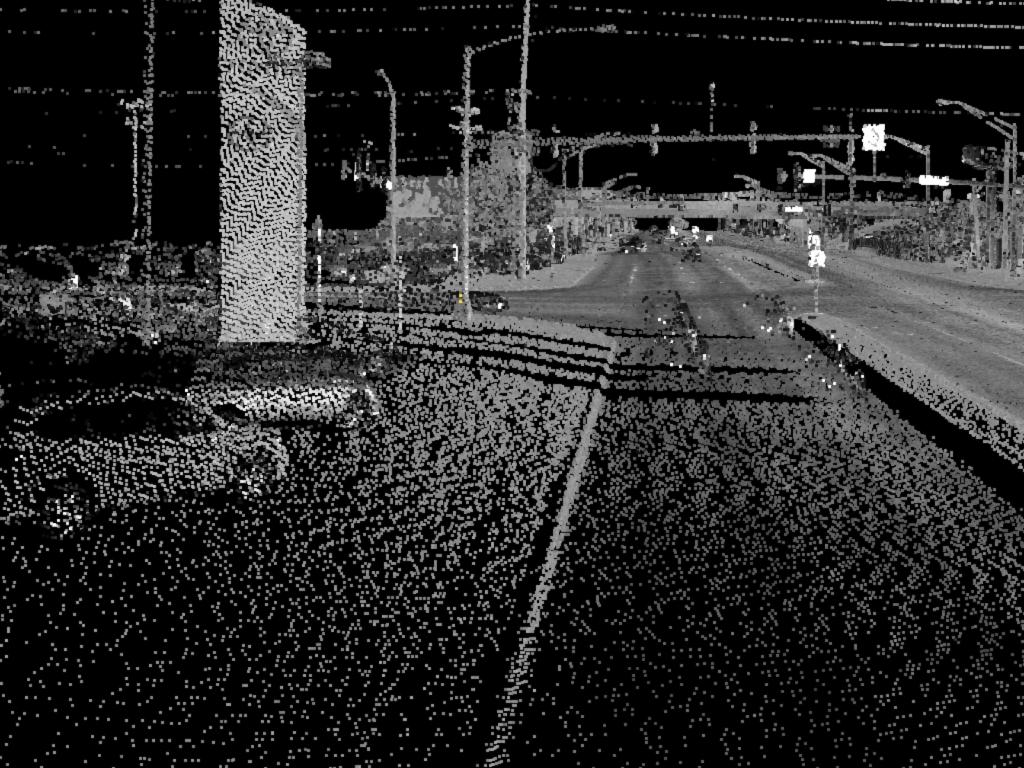 Lidar Prelabeling street example