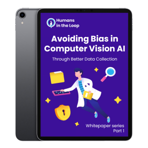Avoiding bias in AI part 1 ipad