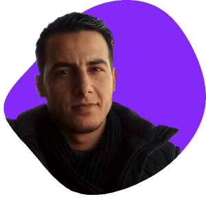 Picture of Abdul an annotator from Zebra Project in Syria