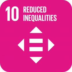 United Nations Sustainable Development Goal: reduced inequalities image